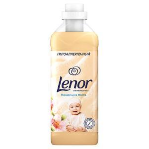 Кондиционер для белья  Концентрат чувствительной кожи Миндальное масло, 1 л Lenor. Цвет: weiß/beige