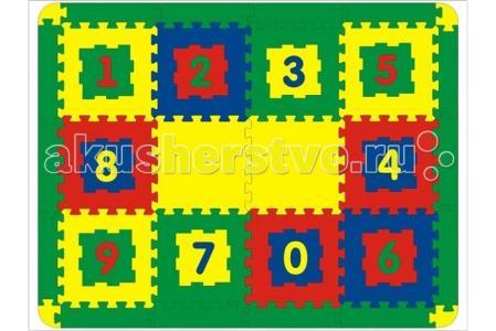 Игровой коврик  12 деталей Флексика