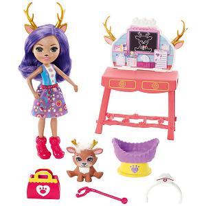 Игровой набор Enchantimals Заботливый ветеринар с Данэсса Оленни Mattel. Цвет: разноцветный