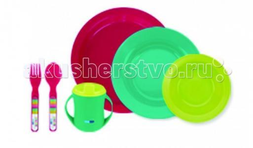 Детский столовый набор 6 предметов Bebe Due