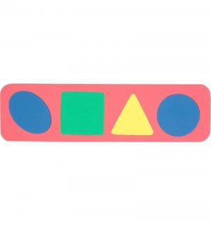Рамка-вкладыш  Геометрические формы красный Бомик