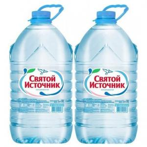Вода  Негазированная, 5 л Святой Источник