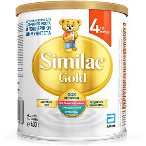 Молочная смесь  Gold 4, с 18 мес, 400 г Similac