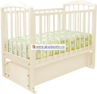 Детская кроватка  Регина С-600 (маятник продольный) Можга (Красная Звезда)