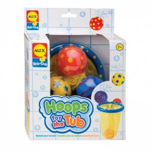 Игра для ванной Мячики в сетке Alex