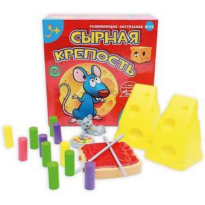 Настольная игра  Сырная крепость Рыжий кот