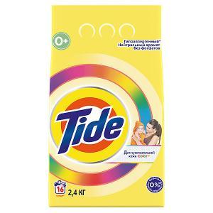 Детский стиральный порошок  Color для чувствительной кожи, 2,4 кг Tide