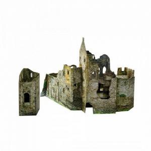 Сборная модель из картона Городские руины Умная бумага
