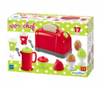 Chef Тостер с аксессуарами (17 предметов) Ecoiffier