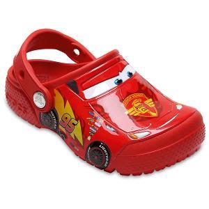 Сабо CROCS Disney Cars. Цвет: красный