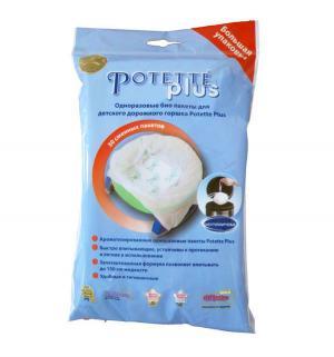 Сменные пакеты к дорожному горшку  2732 (30 шт/уп), Potette Plus
