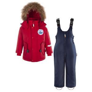 Комплект куртка/полукомбинезон  Kilo, цвет: красный/синий Nels