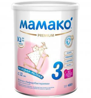 Молочный напиток  на основе козьего молока Мамако