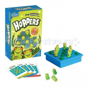 Настольная игра Лягушки-непоседы Hoppers от 5 лет 6703-RU Thinkfun