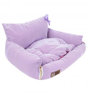 Лежанка для кошек  Жемчужина, цвет: розовая фуксия, 40*45*40см Зоогурман