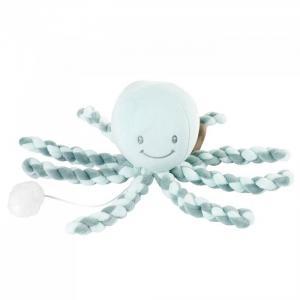 Мягкая игрушка  Lapidou Octopus музыкальная Nattou