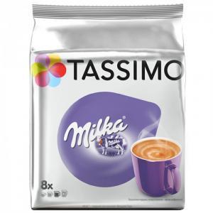 Какао в капсулах Milka для машины Tassimo 8 шт. Jacobs