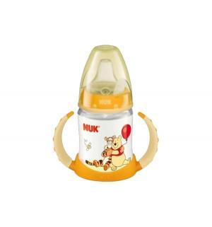 Бутылочка  First Choice Disney пластик с 6 мес, 150 мл, цвет: оранжевый Nuk