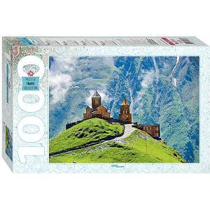 Мозаика puzzle 1000 Грузия. Казбек. Троицкая церковь в Гергети Степ Пазл