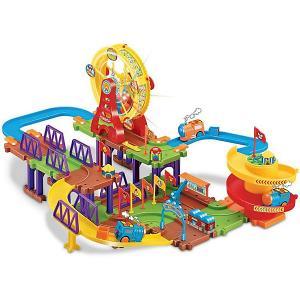 Железная дорога  Колесо обозрения 2 с поездом Devik Toys