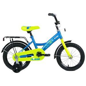 Двухколёсный велосипед ALTAIR Kids, 14 дюймов. Цвет: синий