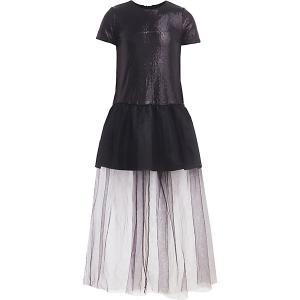 Нарядное платье Gulliver. Цвет: черный