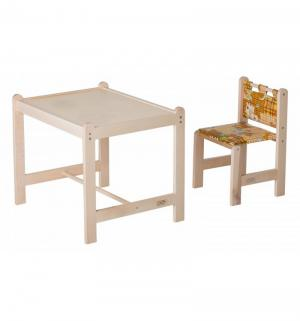 Набор мебели  Малыш-2, цвет: собаки/бежевая столешница Гном