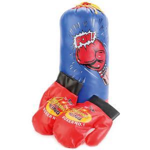 Набор для бокса  (груша+перчатки) Играем вместе