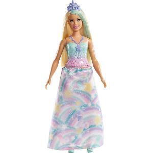 Волшебная принцесса Barbie Dreamtopia со светлыми волосами Mattel. Цвет: разноцветный