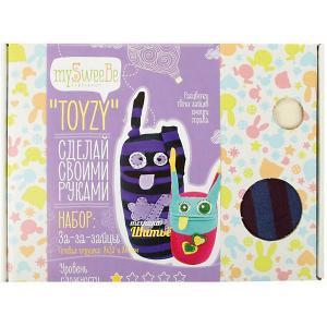 Набор для шитья Toyzy За-за-зайцы. Цвет: разноцветный