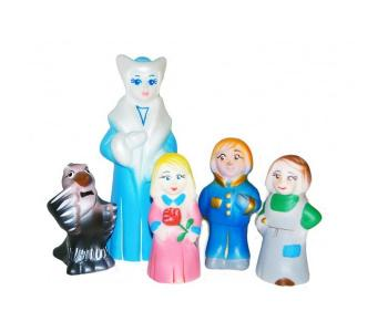 Игрушка Снежная королева (5 персонажей) Кудесники