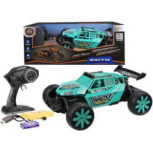 Радиоуправляемый Багги  Чемпион, бирюзовый Пламенный мотор. Цвет: бирюзовый