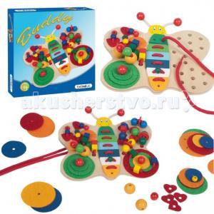 Деревянная игрушка  Развивающая игра Бабочка Бадди 40766 Beleduc