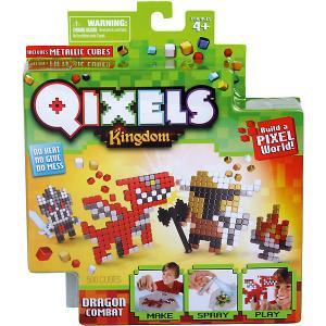QIXELS Набор для творчества Поединок с драконом Spin Master