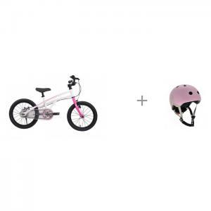Шлем 16437 и велосипед двухколесный Royal Baby H2 All 14 Scoot&Ride