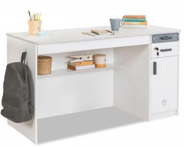 Письменный стол с тумбой White Cilek