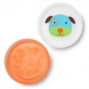Набор из 2 тарелок Собака Skip-Hop