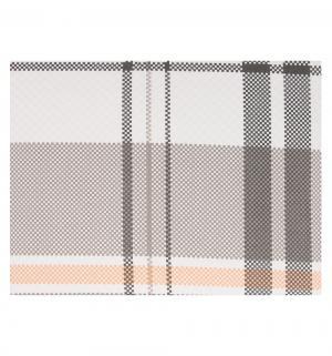 Комплект постельного белья  нав. 70х50 см Brand, цвет: оранжевый Tac