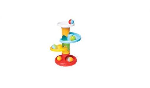 Развивающая игрушка  Башня с цветными мячиками Parkfield