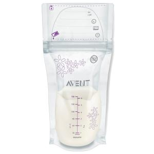 Пакеты  для хранения молока, 180 мл, 25 шт Avent