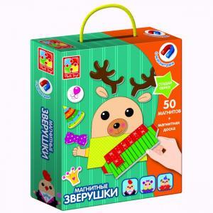 Магнитная игра Зверушки Vladi toys