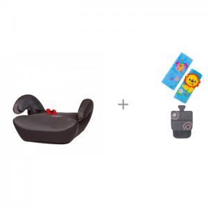 Бустер  SafeUp Aero L с накладкой на ремень безопасности Forest Лев и накидкой сиденье Смешарики SM/COV-010 Heyner