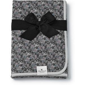 Плед флисовый Eloidie Details, серый Petite Botanic Elodie Details. Цвет: серый