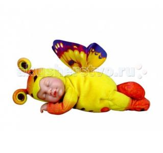 Мягкая игрушка  Детки-бабочки желтые Престиж 30 см Unimax