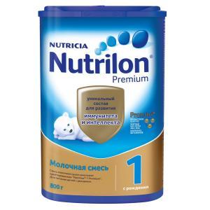 Молочная смесь  PronutriPlus 1 0-6 месяцев, 800 г Nutrilon