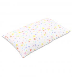 Подушка Звезды разноцветные 40 х 60 см, цвет: белый Зайка Моя