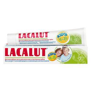 Зубная паста  Kids 4 -8 лет, 50 мл Lacalut