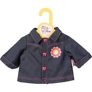 Одежда для кукол  Baby Born, джинсовка Zapf Creation