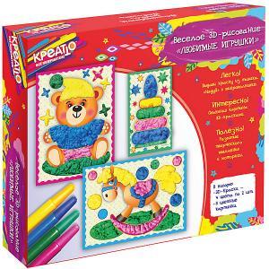 Веселое рисование Любимые игрушки, КРЕАТТО