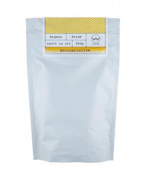 Аргановый скраб солевой антицеллюлит, 250 г Huilargan